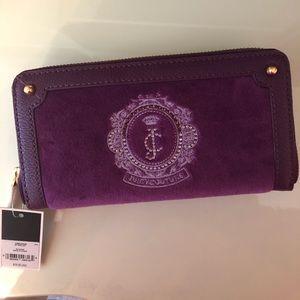 Purple Juicy Couture Wallet